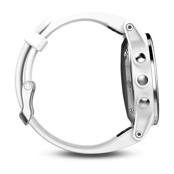 fenix® 5S White with Carrara White Band
