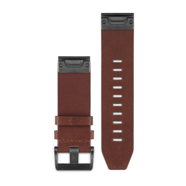 QuickFit 22 Watch Bands Brown Leather