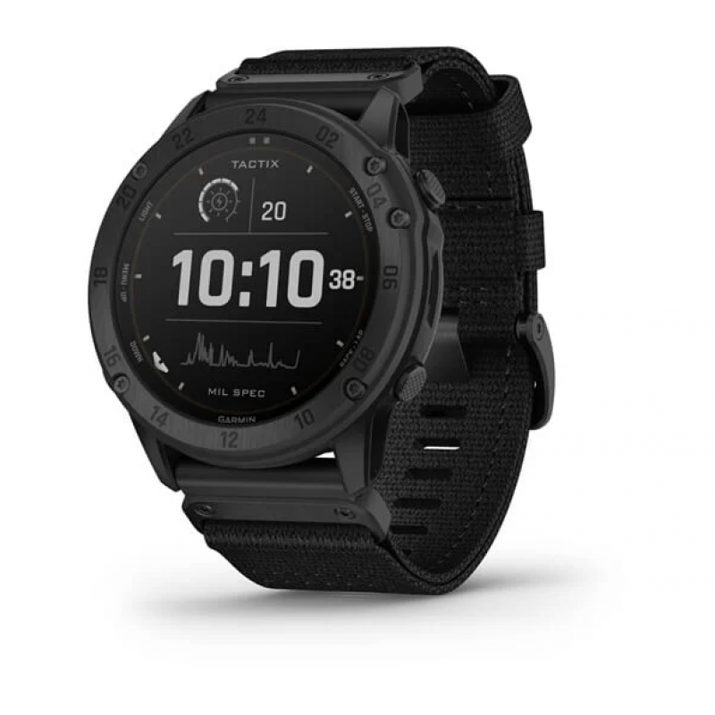 tactix® Delta - Solar Edition Solar-powered Tactical GPS Watch with Nylon Band