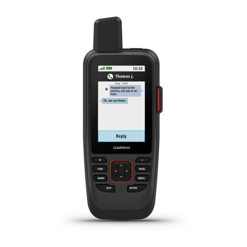 GPSMAP 86sci Marine Handheld With BlueChart g3 Coastal Charts and inReach Capabilities