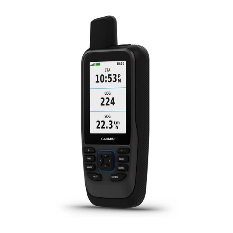 GPSMAP® 86sc Marine Handheld Preloaded With BlueChart® g3 Coastal Charts