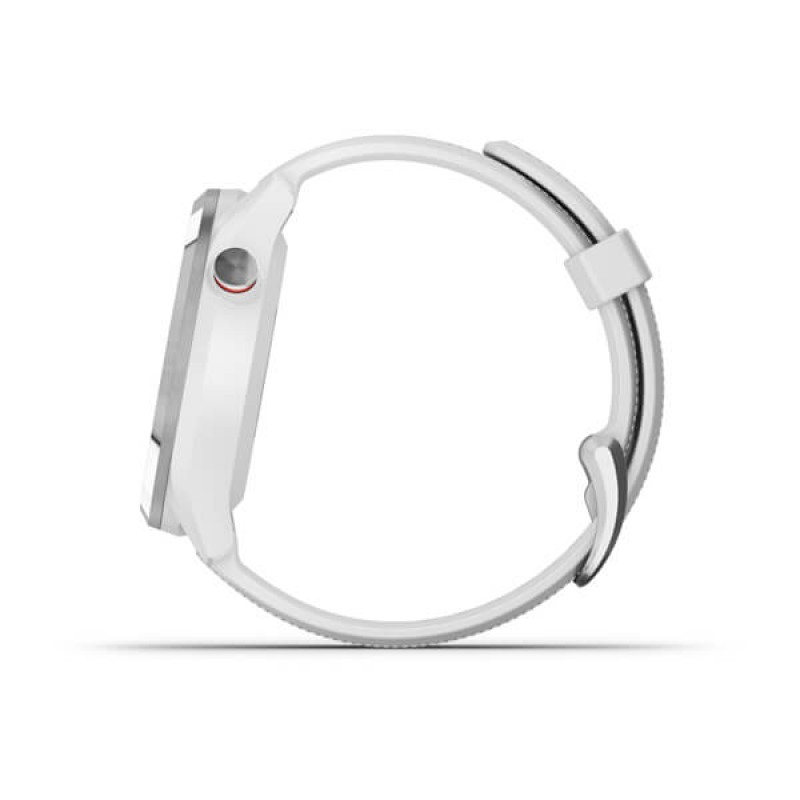 Approach® S42 Polished Silver with White Band