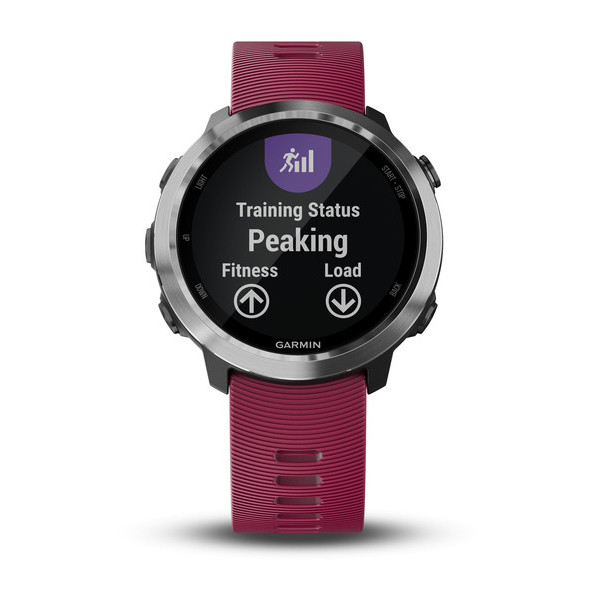 Forerunner® 645 Music With Cerise Colored Band