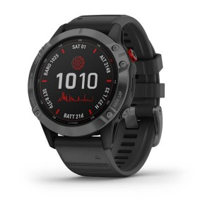 fenix® 6 - Pro Solar Edition Slate Gray with Black Band
